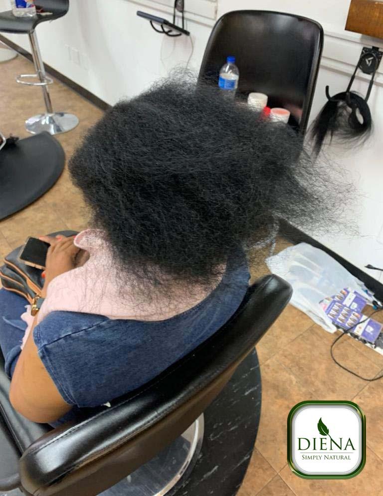 Crochet Braids with Freetress GoGo Curl Hair - DSN Braiding - Diena Simply Natural