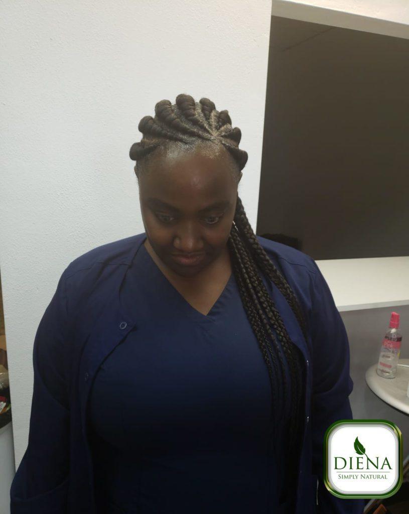 Ghana Braids - DSN Braiding