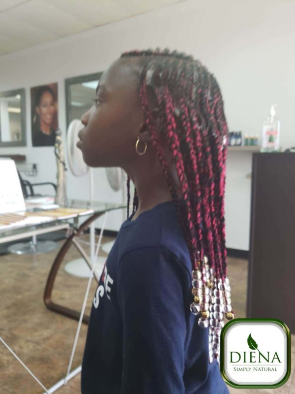 Kids Braids - DSN Braiding - Diena Simply Natural