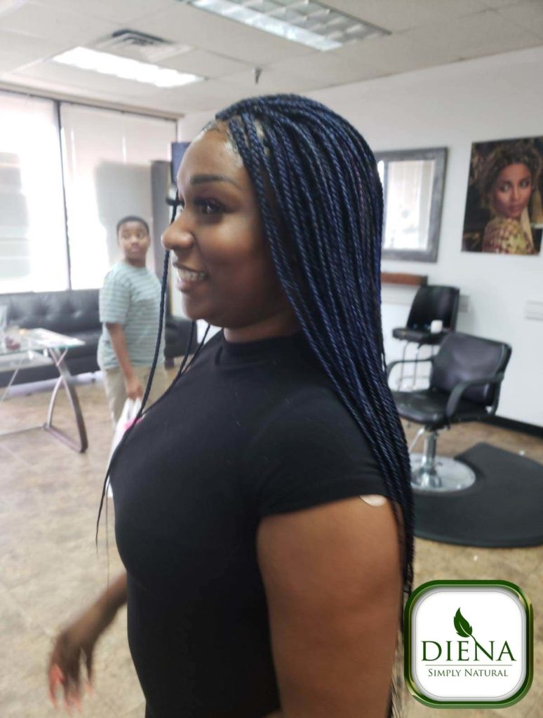 Long Senegalese Twist - DSN Braiding - Diena Simply Natural