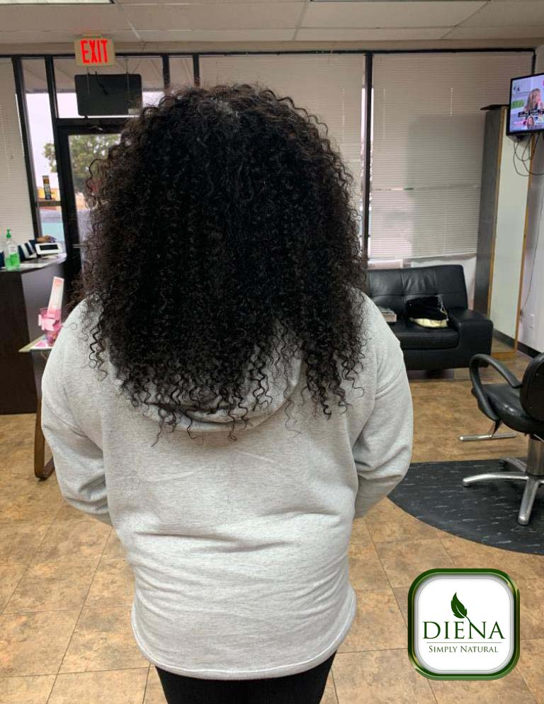 Curly Weave Bundles Remy Hair - DSN Braiding - Diena Simply Natural