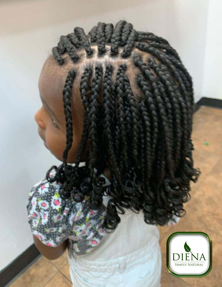Single Braids - DSN Braiding - Diena Simply Natural